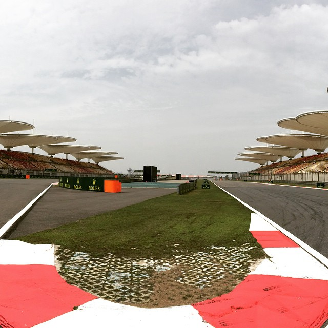 F1 Shanghai track walk
