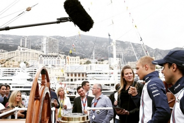 Hosting for Williams Martini Racing and Randstad at the Monaco F1 Grand Prix with Felipe Massa and Valtteri Bottas