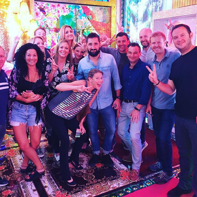 One messy night in Tokyo! @robotrestaurant